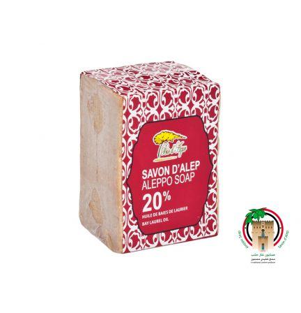 敘利亞阿勒頗皂 20%月桂油