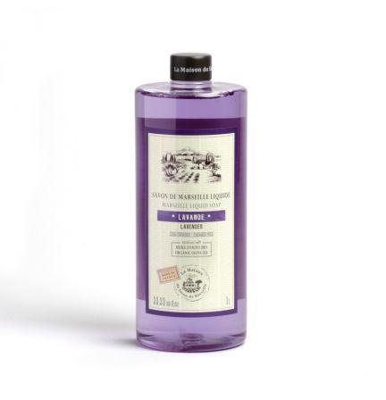 法國橄欖油馬賽皂皂液1L – 薰衣草