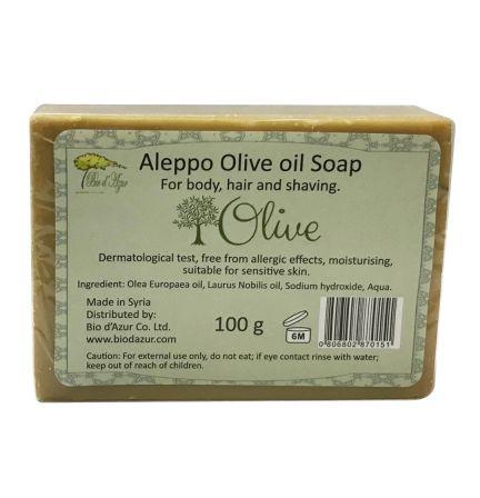 敘利亞阿勒頗橄欖油手工皂 100g