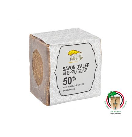 敘利亞阿勒頗皂 50%月桂油