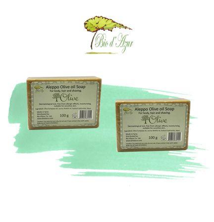 敘利亞阿勒頗橄欖油手工皂 100g 2件優惠裝 (原價:$90)