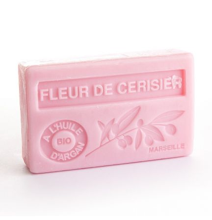 法國有機摩洛哥堅果油香薰皂- 櫻花