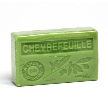 法國有機摩洛哥堅果油香薰皂- 金銀花 (CHEVREFEUILLE)