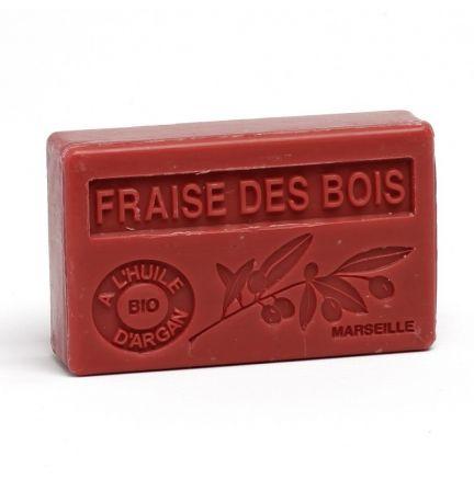 法國有機摩洛哥堅果油香薰皂- 草莓 (FRAISE DES BOIS)