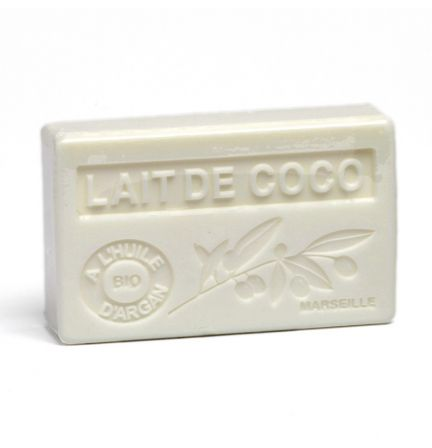 法國有機摩洛哥堅果油香薰皂- 椰奶 (LAIT DE COCO)