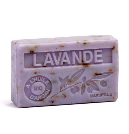 法國有機摩洛哥堅果油香薰皂- 薰衣草花 (LAVANDE BROYEE)