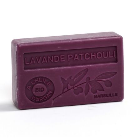 法國有機摩洛哥堅果油香薰皂- 薰衣草廣藿香 (LAVANDE PATCHOULI)