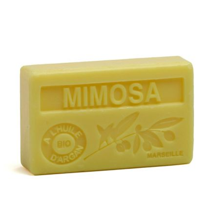 法國有機摩洛哥堅果油香薰皂- MIMOSA 小黃花(金合歡)