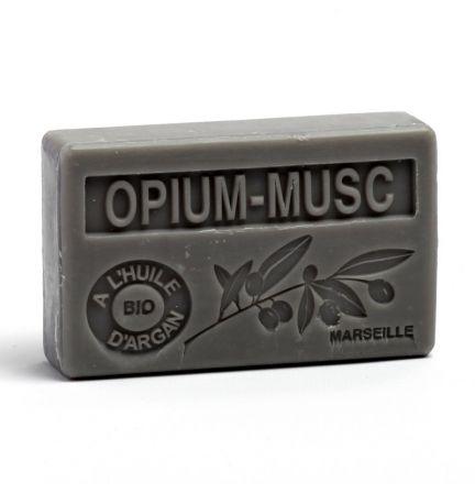 法國有機摩洛哥堅果油香薰皂- 麝香鴉片香水 (OPIUM MUSC)