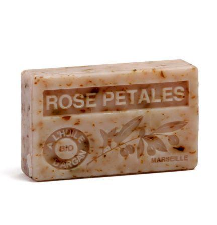 法國有機摩洛哥堅果油香薰皂- 玫瑰花瓣 (ROSE PETALES)