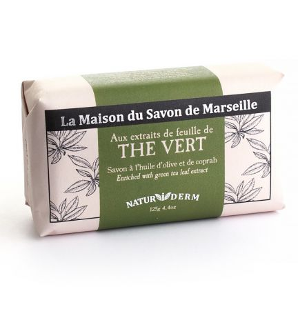 保濕香薰精油洗臉皂-綠茶(THE VERT)