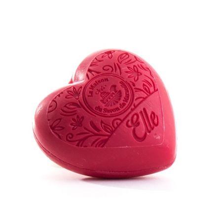法國摩洛哥堅果油心形皂- 她「Elle」