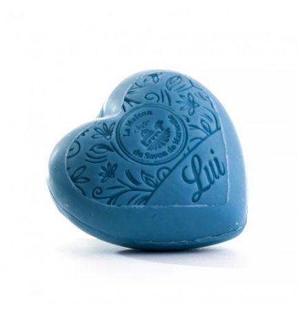 法國摩洛哥堅果油心形皂- 他「Liu」