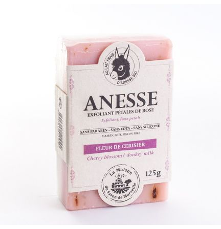 法國雙重護理有機驢奶皂- 驢奶/櫻花