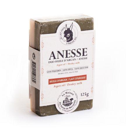 法國雙重護理有機驢奶皂 - 驢奶/有機摩洛哥堅果油 (HUILE D'ARGAN/ANESSE)