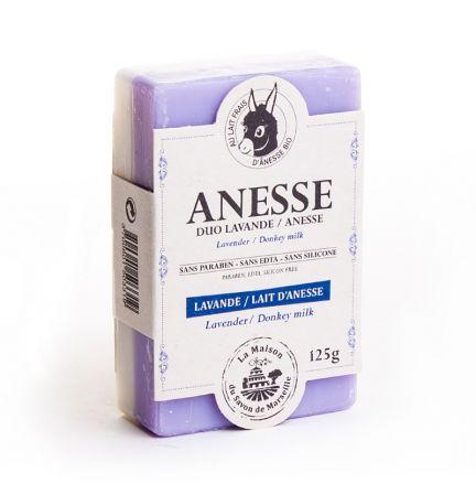 法國雙重護理有機驢奶皂- 驢奶/薰衣草(LAVANDE/ANESSE)