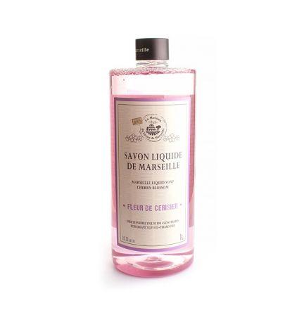 法國橄欖油馬賽皂皂液1L – 櫻花
