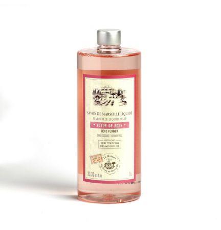 法國橄欖油馬賽皂皂液1L – 玫瑰