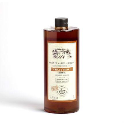 法國橄欖油馬賽皂皂液1L – 摩洛哥堅果油