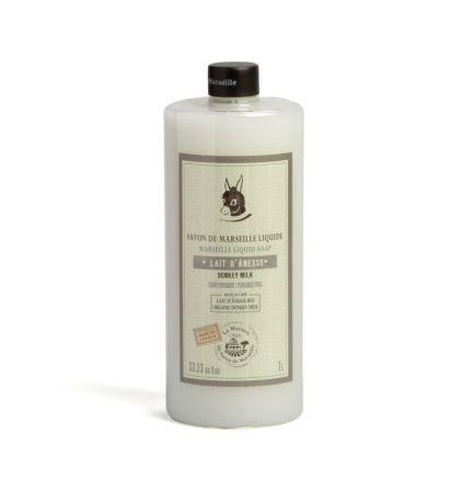 法國橄欖油馬賽皂皂液1L – 驢奶