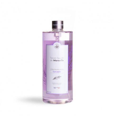 法國橄欖油馬賽皂皂液1L – 薰衣草(不連泵)