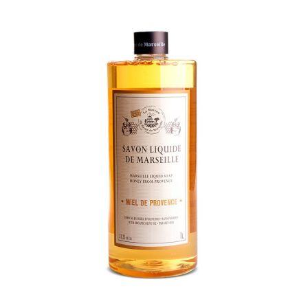 法國橄欖油馬賽皂皂液1L – 蜜糖