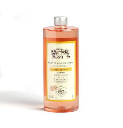 法國橄欖油馬賽皂皂液1L – 西柚